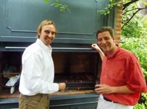Horacio and Doug. Master chefs.