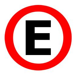 E for Parking